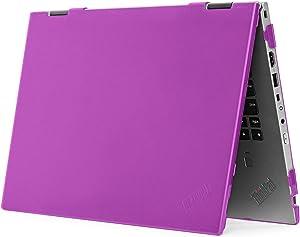 "mCover Hard Shell Case for 14"" Lenovo ThinkPad X1 Yoga (3rd Gen) Laptop Computer (X1-Yoga-3G Purple)"