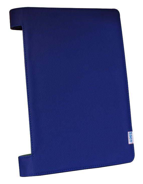 Saco Tablet flip Cover for iBall Slide Brace X1 Tablet   Blue Bags,Cases   Sleeves