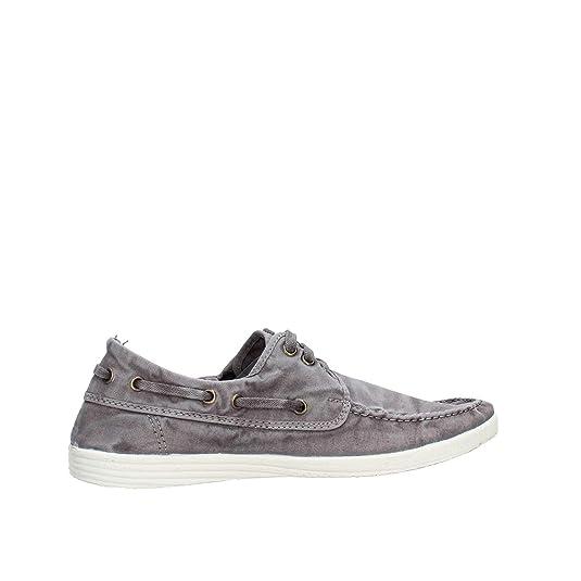 grau Natural World Schuhe Sneaker Nautico Enzimatico 613E-623 gris enzimatico