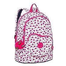Kipling Heart Small Backpack Pink Wings