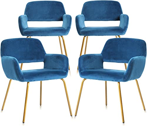 Best living room chair: NOVIGO Modern Velvet Accent Chair