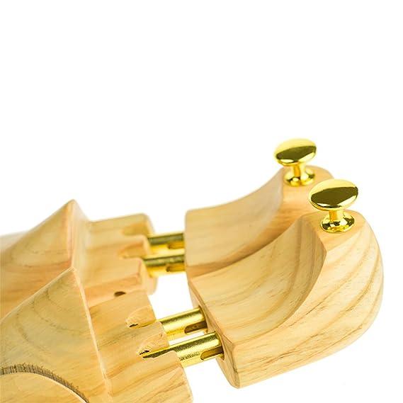 Allarga Scarpe di Qualitš€ con Doppia Molla in Pin di Cedro Tendiscarpe  Forme Allargascarpe Forma per Calzature Unisex Diverse Misure (Femminile S   EU ... 645ed58e2c0