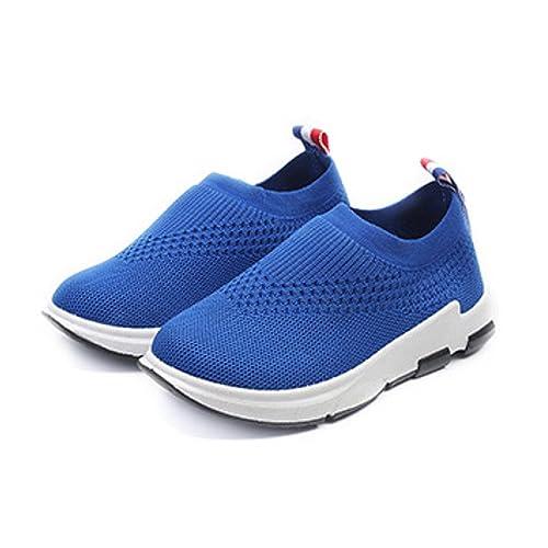 fotos oficiales 0f2fc bb6d7 Daclay Zapatos sin Cordones para niños, niños y niñas ...