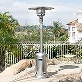New Commercial Patio Heater Outdoor Propane Garden Space Fire Gas Flame...