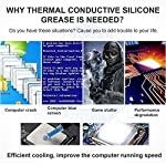 RZJZGZ-Thermal-Compound-Paste-Carbon-Based-High-Performance-Heatsink-Paste-Thermal-Compound-CPU-for-All-Coolers-Thermal-Interface-Material-Thermal-Conductivity-317m-k-20g