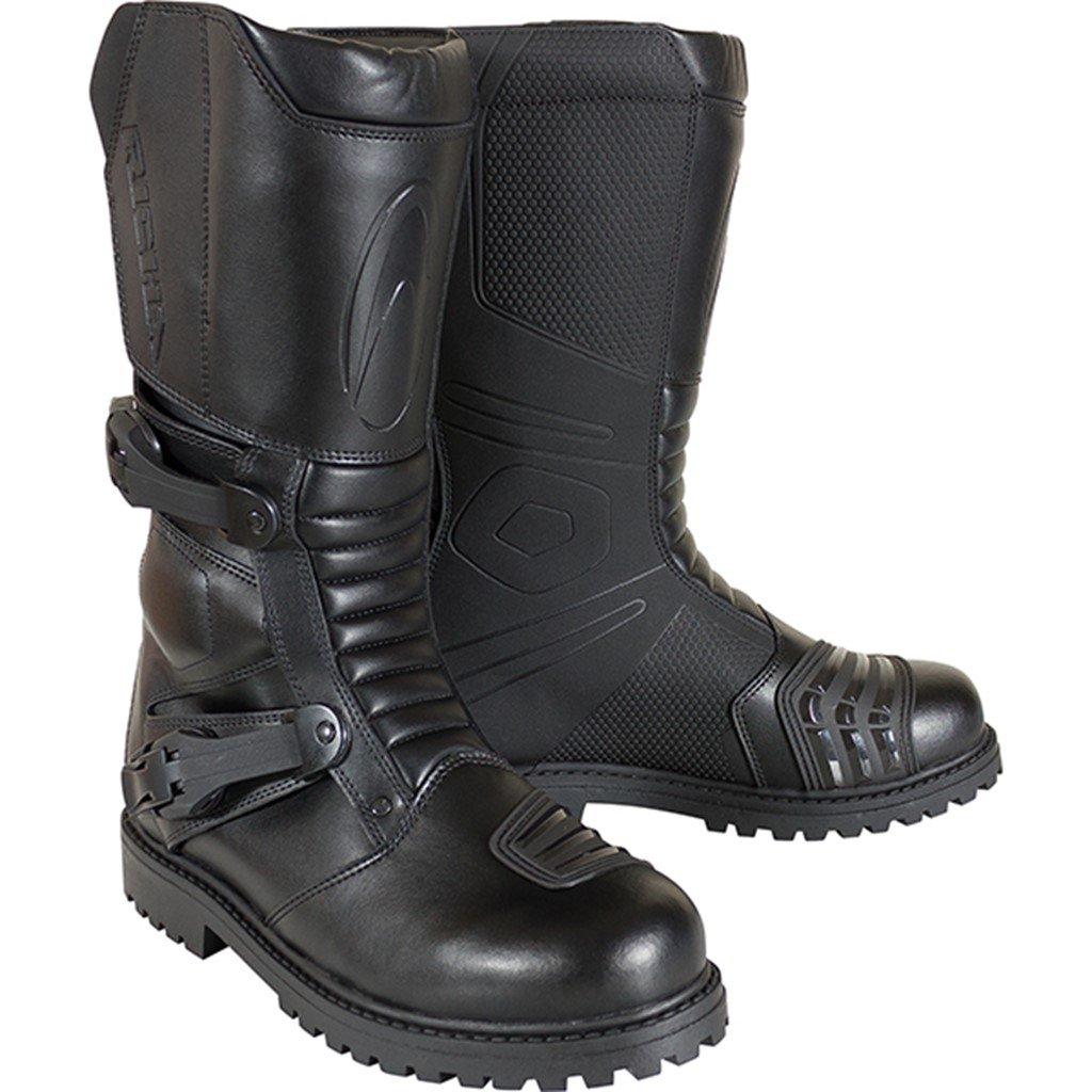 Richa Adventure Motorcycle Boots 45 Black (UK11) 5060391695396