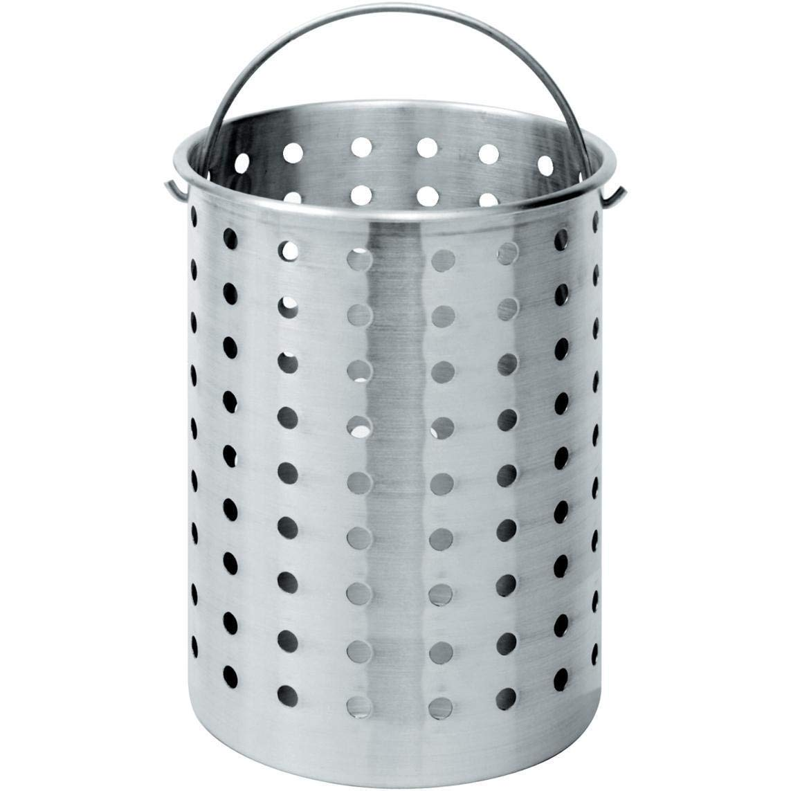 Bayou Classic B160, 62-Qt. Stainless Perforated Basket by Bayou Classic