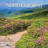 North Carolina Wild & Scenic 2020 12 x 12 Inch Monthly Square Wall Calendar, USA United States of America Southeast State Nature