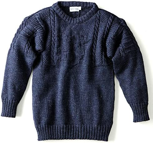 [チャンネル・ジャンパー/Channel Jumper] セーター 英国製 オルダニー ニット メンズ