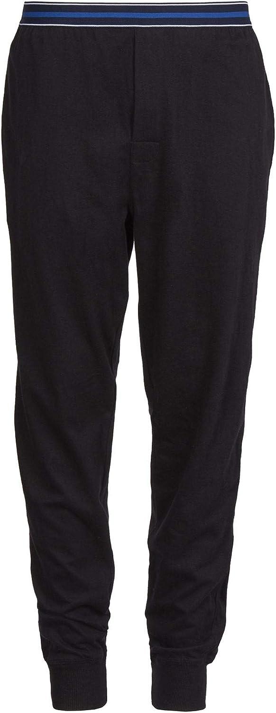 einfarbig weich mit Taschen Style It Up Herren Schlafanzughose//Pyjamahose//Unterhose aus Jersey warm Baumwolle