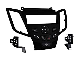 Metra 99-5825B Single DIN Dash Installation Kit for 2010-Up Ford Fiesta Vehicles Black