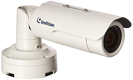 Geovision GV-BL1500 1.3 MP Super Low Lux WDR IR Bullet IP Camera White