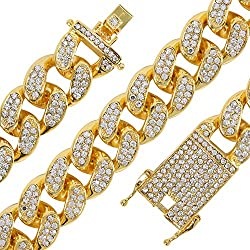 Gold Plated Miami Cuban Link Chain