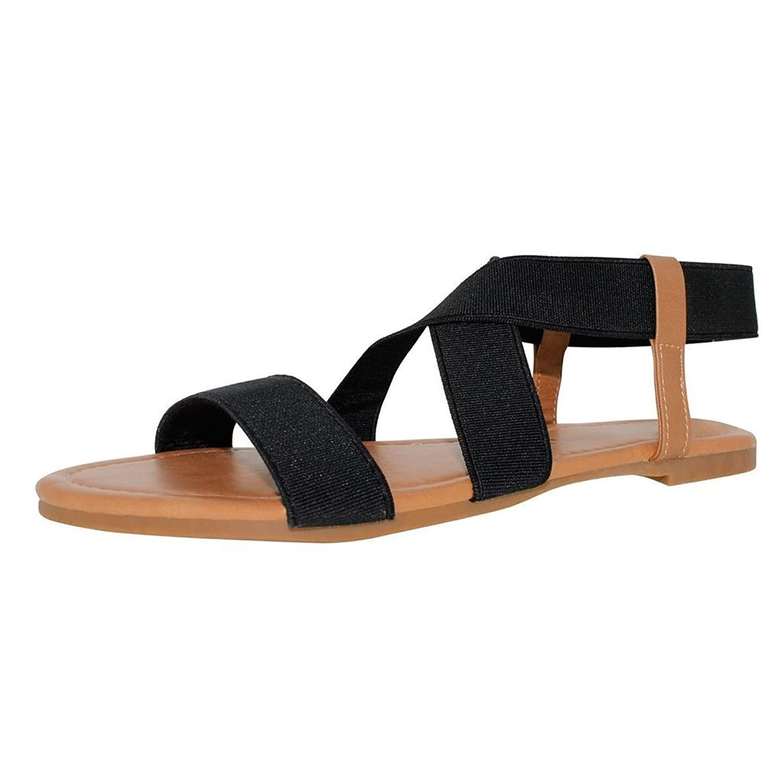 3e911fb9918 chujian Women s Round Head Simple Sandals hot sale 2017 - bennigans ...