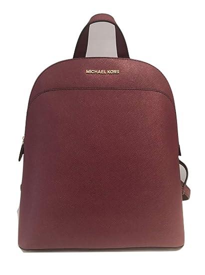 1ed23eb89979 Amazon.com: MICHAEL Michael Kors Women's EMMY Leather Backpack  (Brown/acorn): Clothing