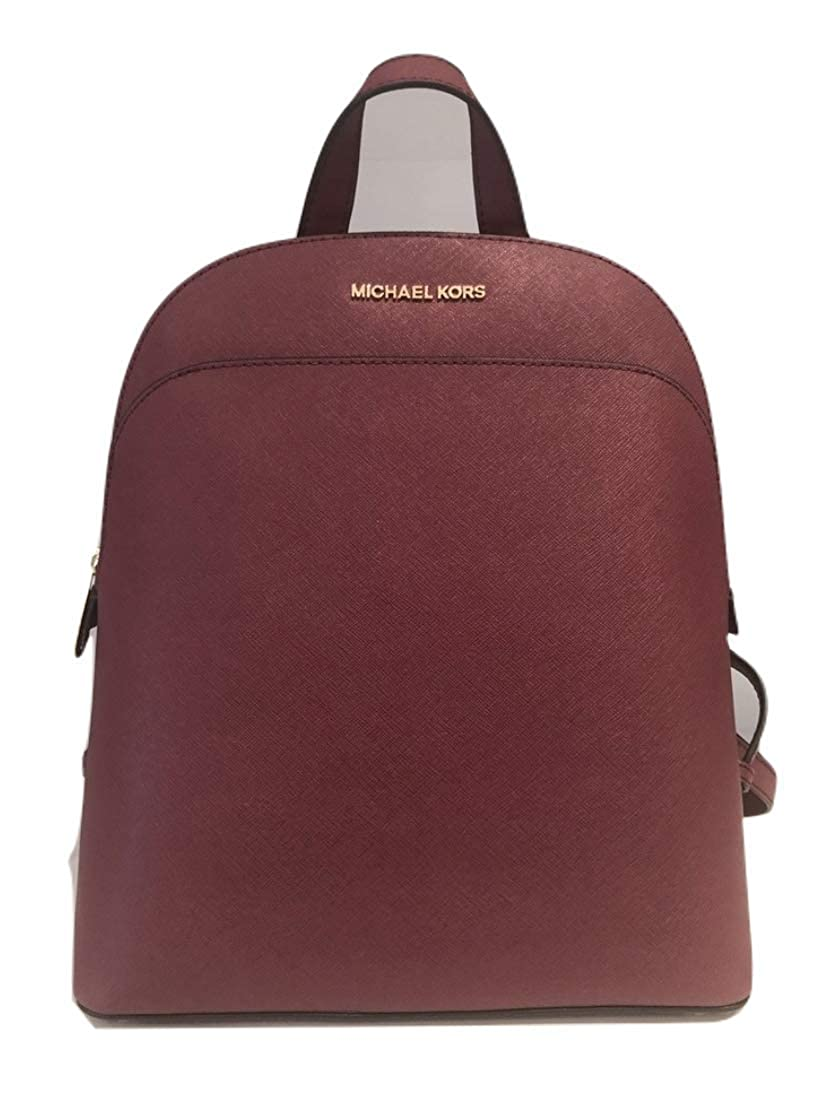 a4456474cb13 Amazon.com: MICHAEL Michael Kors Women's EMMY Leather Backpack  (Brown/acorn): Clothing
