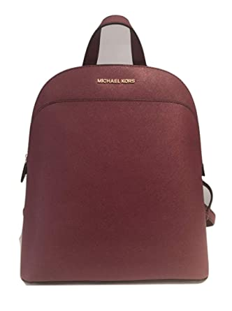 Amazon.com  MICHAEL Michael Kors Emmy Large Leather Backpack ... cfe8ac203e