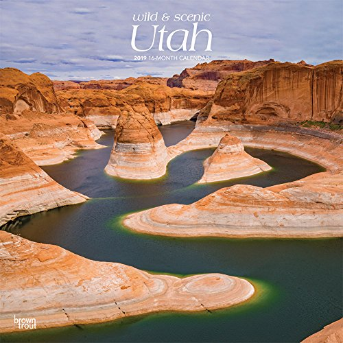 Utah, Wild & Scenic 2019 12 x 12 Inch Monthly Square Wall Calendar, USA United States of America Rocky Mountain State Nature (Multilingual ()