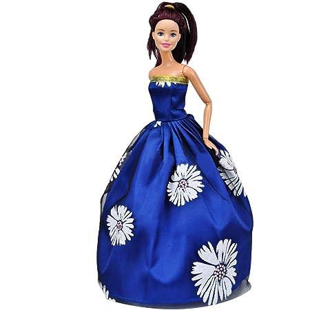 Elegante Traje de Vestido de Boda para muñeca de 29 cm ...