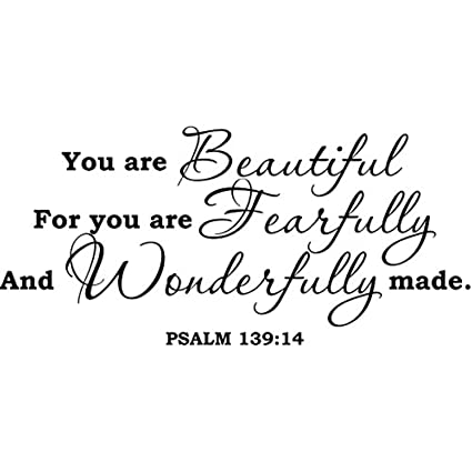 Amazon.com: Wall Decals Decor Quote Psalm 9 You are ...
