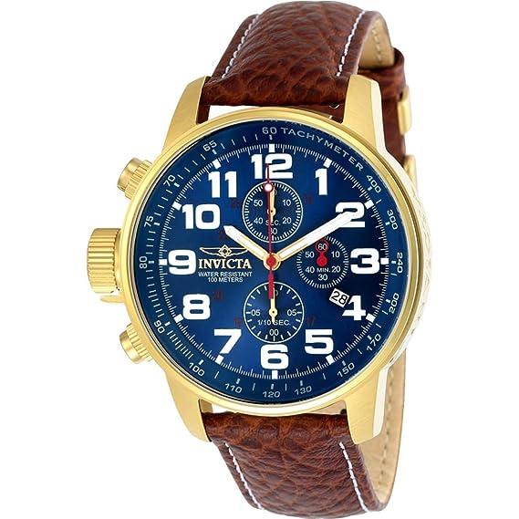 9df399f8f79f Invicta 3329 I-Force Reloj para Hombre acero inoxidable Cuarzo Esfera azul   Amazon.es  Relojes