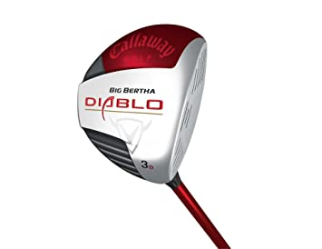 Amazon.com: Callaway Big Bertha Diablo Fairway Madera (Draw ...
