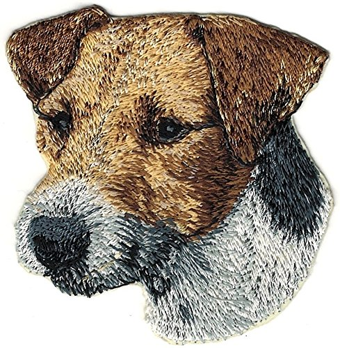 "3"" Jack Russell Terrier Canine Dog Breed Embroidery Patch"