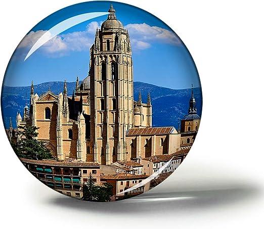 Hqiyaols Souvenir Catedral de España Segovia Imanes Nevera ...