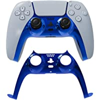 PS5 Faceplate Replacement Cover, Front Housing Shell Case for Sony Playstation 5 DualSense Controller (Blue 3)
