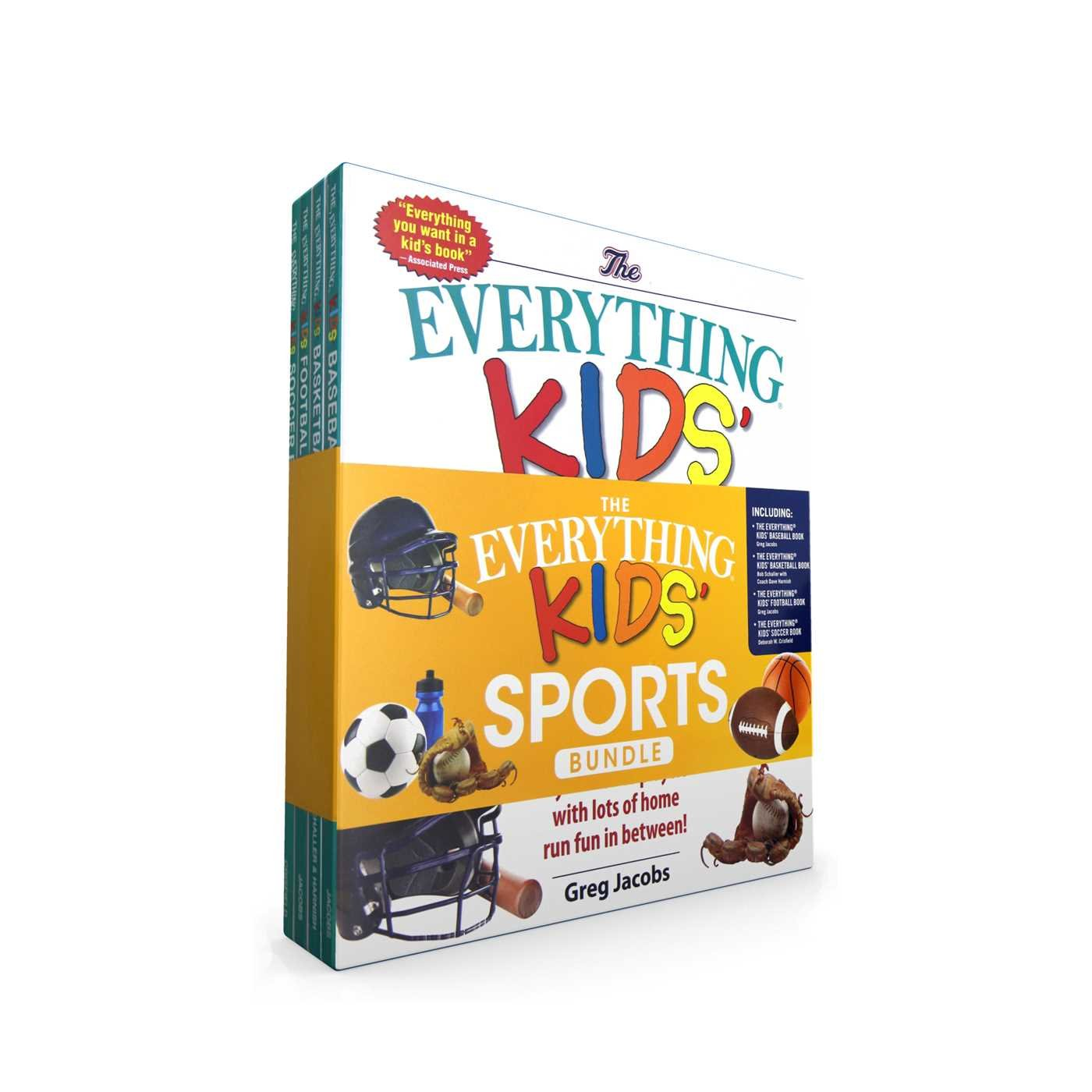 The Everything Kids' Sports Bundle: The Everything® Kids' Baseball Book; The Everything® Kids' Basketball Book; The Everything® Kids' Football Book; The Everything® Kids' Soccer Book