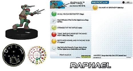 Amazon.com : TMNT Teenage Mutant Ninja Turtles Raphael #025 ...