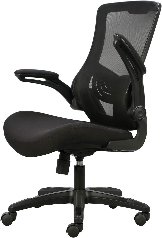 nero Hbada Sedia da ufficio Sedia da scrivania ergonomica ...