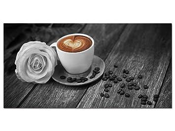 GRAZDesign 100064_001_01_04 Acrylglas Wandbild mit Bild-Motiv Kaffee ...