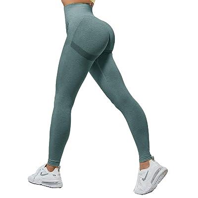 Women Ladies Seamless Fitness Yoga Leggings Scrunch Butt Gym Workout Sport Pants