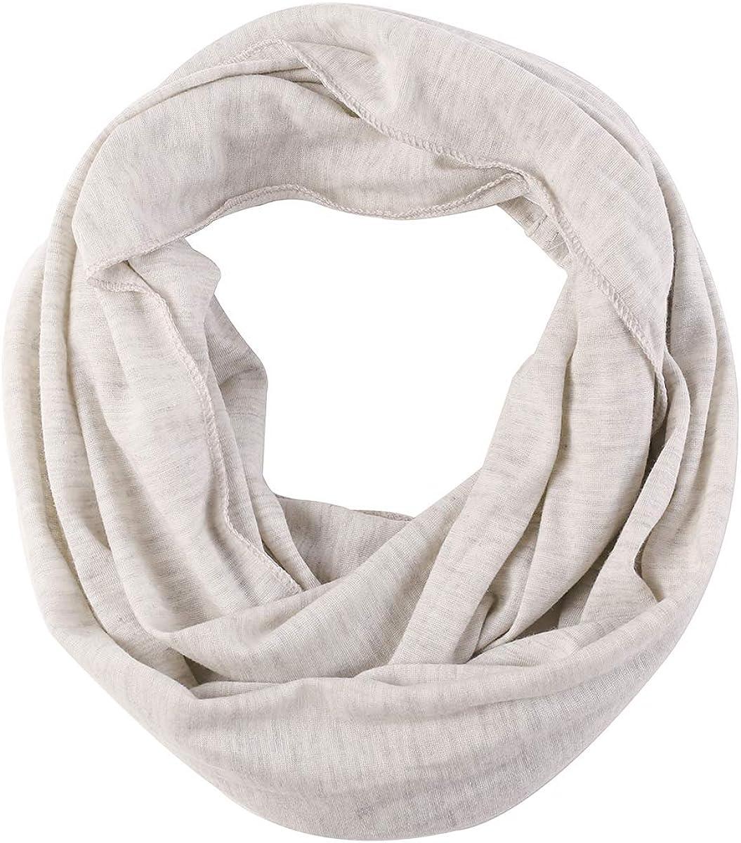 Toddler Baby Girls Boys Jersey Infinity scarf Cozy Soft Fashion stylish