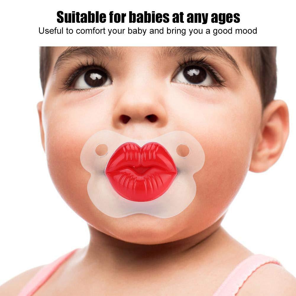 Chupete para bebé, Unisex Suave Gracioso Cerdo Nariz Chupete ...