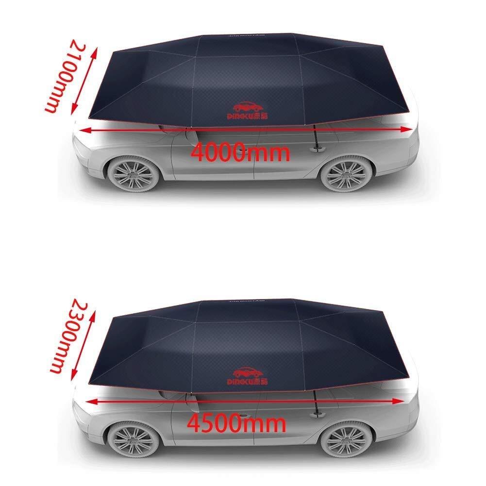 Protegge da Polvere NYDZDM Tenda da Auto Tenda Tenda Parasole Ombrello Universale Copertura Antivento Tenda Auto for Auto Tenda Oxford Uccello Che Cade Pioggia Acida