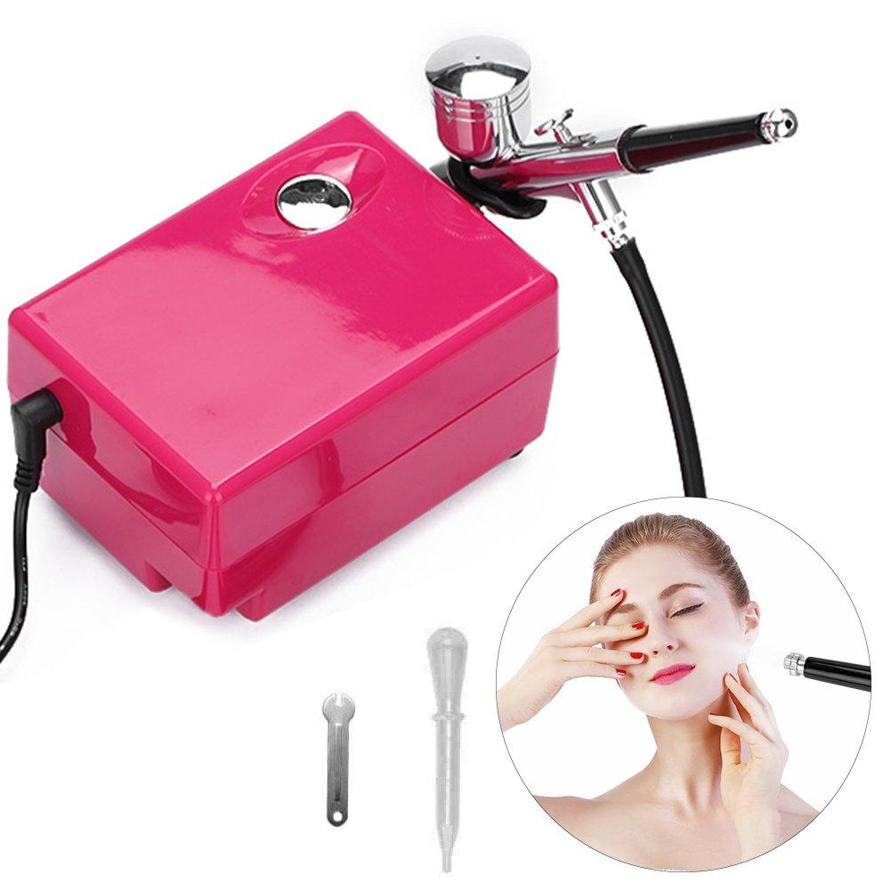 Maquina Facial Hidratante Agua Oxígeno Inyección Dispositivo Reponer el Agua Rejuvenecimiento de la Piel Eliminación de Arrugas Limpiar Poros para salon de belleza y hogar Semme