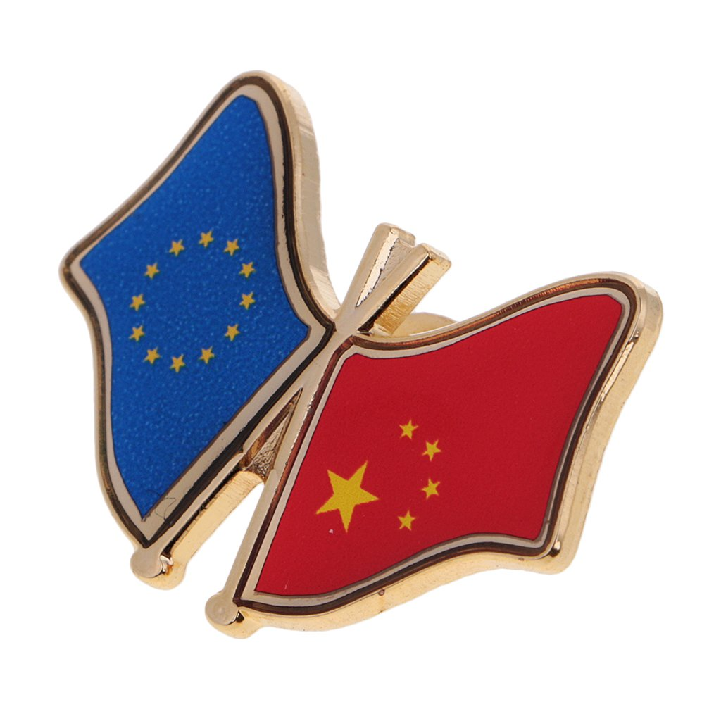 Dovewill 2.2x2cm Country Flag Model Pin Badge for Clothes Tie Lapel Hand Bag Decors