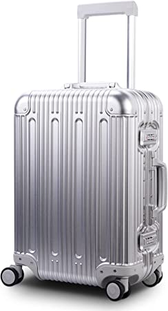 Travelking All Aluminum Zipper-less Luggage