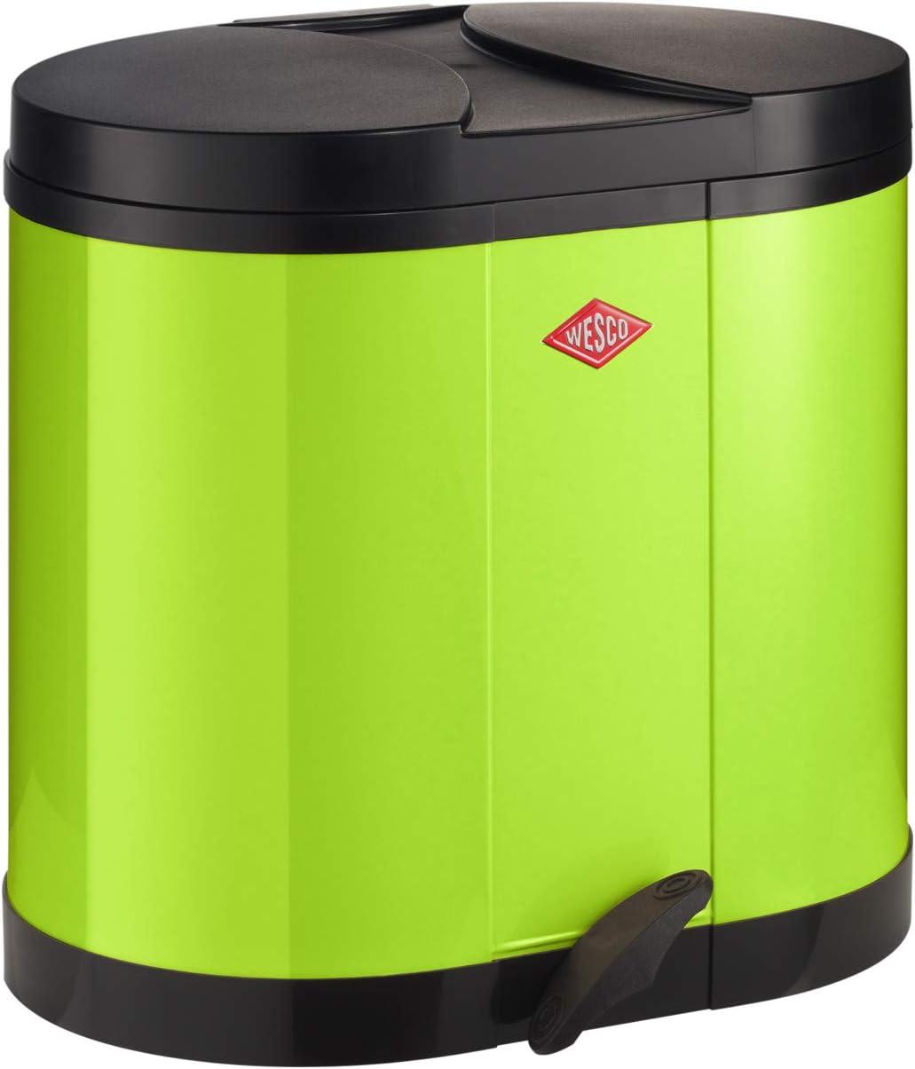 WESCO 170611/ 37,5/x 46,5/x 44,5/cm Cool Gris Cubo de Basura de Metal /76/Cubo de Reciclaje 170 2/x 15/L