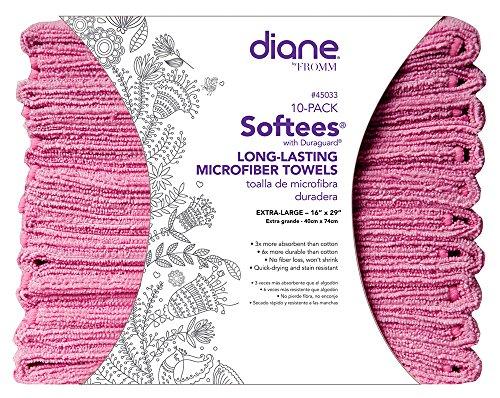 Softees Towels Duraguard Pink 10pk