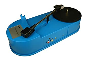 Vinyl Record en el dispositivo de reproducción MP3 Audio ...