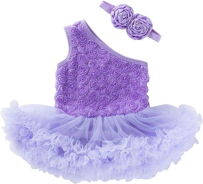 Vestido de Niñas, Lenfesh Bebé Recién Nacida Vestido De Princesa ...