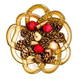 Kosta Boda 7051411 Basket Bowl, Large, Gold