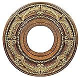 Livex Lighting 8204-57 Ceiling Medallion, Venetian Patina