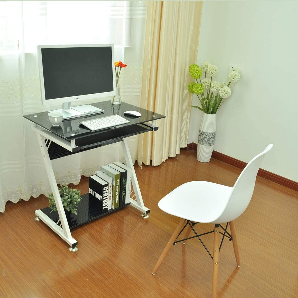 Amazon.com: Yetou Mobile Computer Desk Portable Folding Table Home