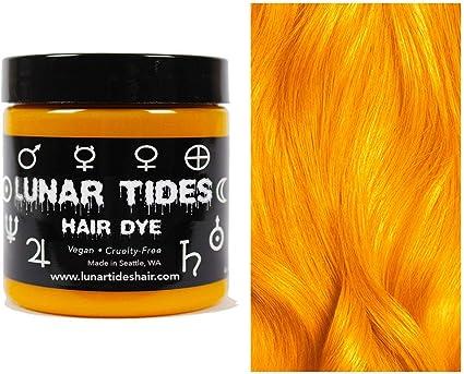 Fire Opal, tinte para el cabello semi permanente naranja - 118 ml - Lunar Tides