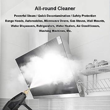 Dytxe-shelf 1000W Pulitore A Vapore Handheld Steam Cleaner Superfici Cucina Pavimento Grout E pi/ù Moquette Alta Pressione Chimico Vapore Libero for Il Bagno Privato
