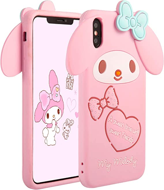 max 3D Cute Cartoon Soft Silicone Cover